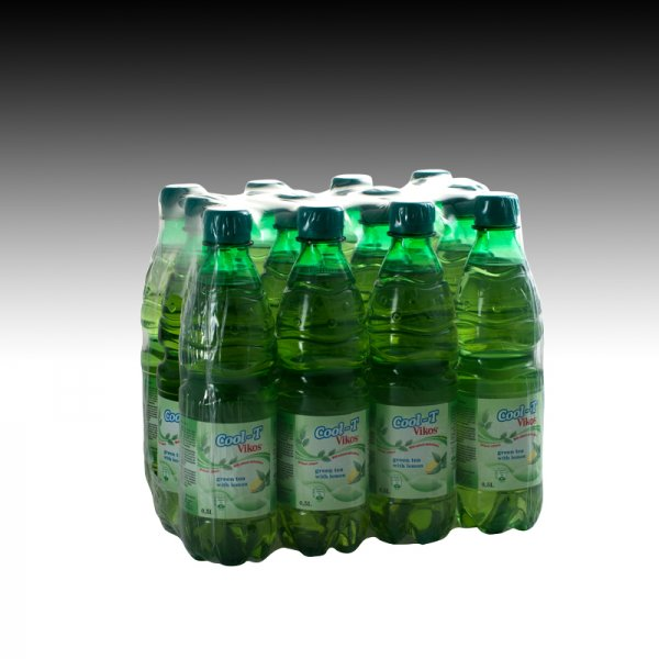 Green Tea & Lemon Flavoured Drink Cool-Tea Vikos 0,5L