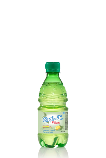 Green Tea & Lemon Flavoured Drink Cool-Tea Vikos 0,33L
