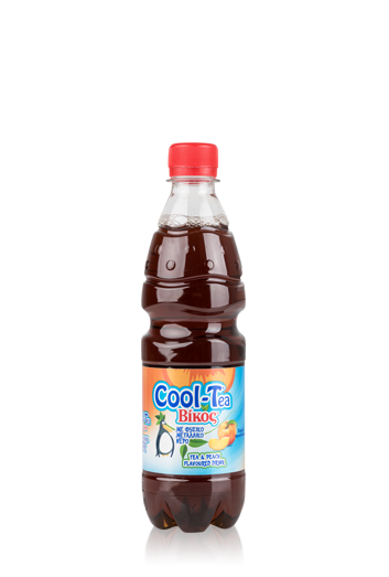 Tea & Peach Flavoured Drink Cool-Tea Vikos 0,5L
